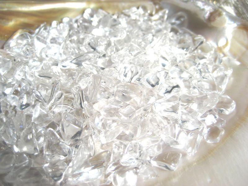 画像1: ヒマラヤ産水晶サザレグレード5A 100g